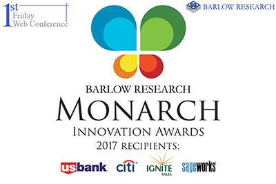 "First Friday Web Cast: ""2017 Monarch Innovation Awards Winners"""