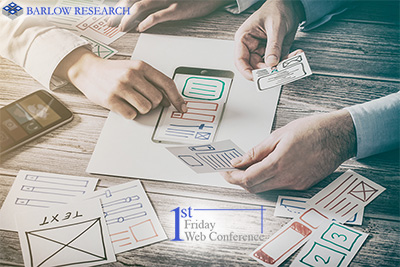 """11 am Central - First Friday Web Cast: """"Designing Digital Channels for the Optimal User Experience"""""""