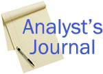 Analyst's Journal